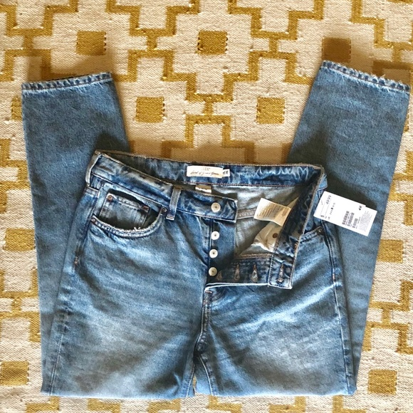 outlet boutique official site choose clearance ❄️SALE❄️ H&M vintage fit high waist mom jeans. NWT NWT